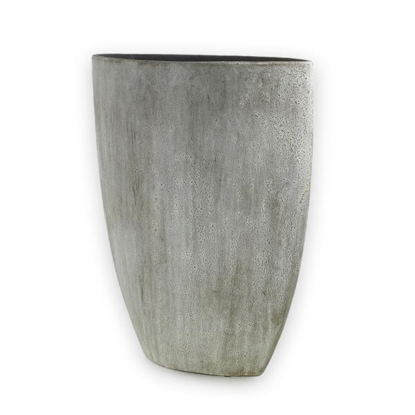 Old Stone Vase Plant Jungle