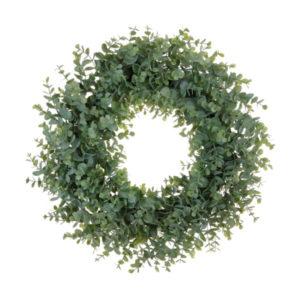 "mini eucalyptus wreath 18"""