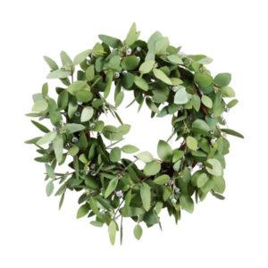 """Seeded eucalyptus wreath 24"""""""