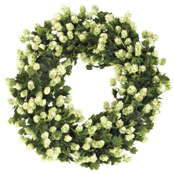"Hops Wreath 30"""